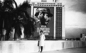 В биографии Эммы Николаевны была кубинская страница. Гавана, 1966 г.