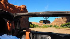 Onderweg in The Canyon met Native guide TJ