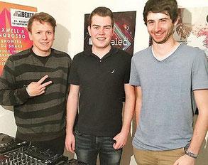 Musik verbindet (von links): Ahromat und ION+ freuen sich in Frankfurt auf das Zusammentreffen mit Lekko