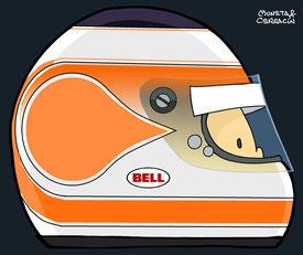 Nelson Piquet Jr by Muneta & Cerracín