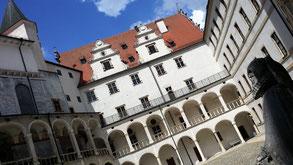 Schloss Neuburg an der Donau, West-, Nord- und Ostflügel
