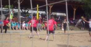 Beachvölkerball Turnfest 2017