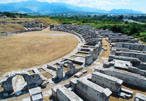 Древний город Салона