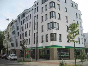 Neues Wohn- und Geschäftshaus in der Admiralstr 10-14