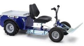 Vehículo eléctrico agrícola