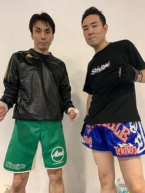 ▲キックボクシングジム ストラッグルのアマチュア選手