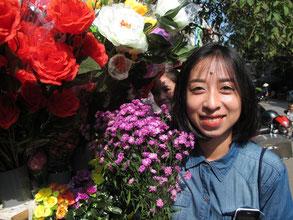 die Vietnamesen lieben Blumen über alles
