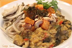 Linsen-Meeres-Gemüse