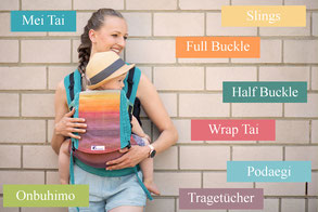 Huckepack baby carrier, babywearing, which carrier to choose