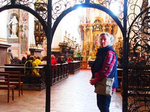 die Ausstattung der Klosterkirche ar sehr  aufwändig