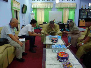 Consultation with local government agencies