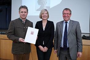 Ehrenbrief des Landes Hessen für Dieter Mackenrodt
