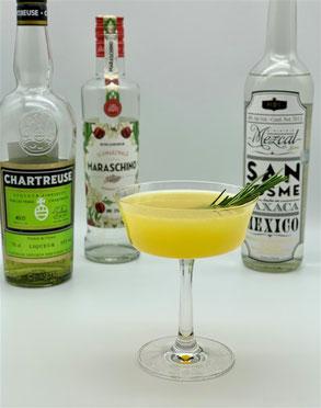 ultima palabra, chartreuse verte, grüne chartreuse, coktail mit mezcal, mezcal cocktail