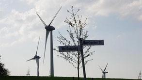 Mehr Windenergie: Mit mindestens fünf weiteren Standorten für Windenergieanlagen im Stadtgebiet rechnet die Koalition.
