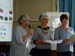 Marie-Hélène, Jeanine et Christiane témoignent de leur tout récent voyage à Réo