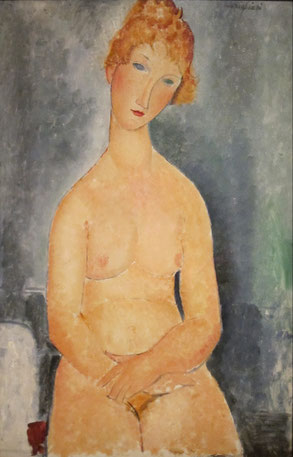 Amedeo Modigliani, via Wikimedia Commons