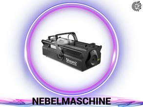 DJ, Eventtechnik, Ton, Video und Licht verleih.  Nebelmaschine buchen.