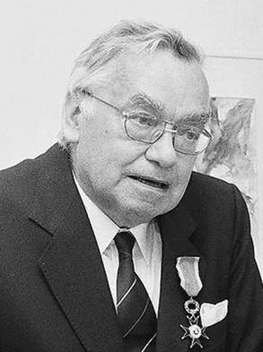 Hubert Locher (1993). Bild: Landesarchiv Baden-Württemberg, Abt. Staatsarchiv Freiburg, W 140 Nr. 14038. Marlis Decker. Genauere Angaben siehe unten.