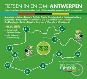 Tips voor Fietsers - Fietsen in en om: Antwerpse Kempen editie 2020 - Dé gratis fietsgids