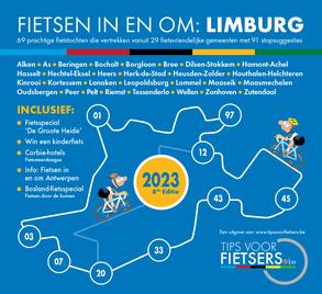 Tips voor Fietsers - Fietsen in en om Limburg editie 2020 - De gratis fietsgids