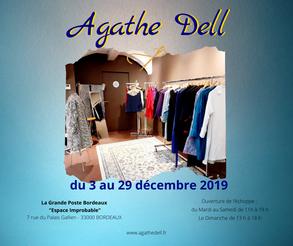 Agathe Dell, Grande Poste, Espace  improbable Bordeaux, décembre 2019