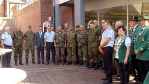 Prominenz am Tag der Reservisten in Buchen