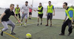 150 Sportler, in erster Linie Jugendliche und junge Erwachsene, beteiligten sich am Wochenende am 24-Stunden-Fußball-Marathon des Vereins Tabalingo. Foto: T. Dörflinger