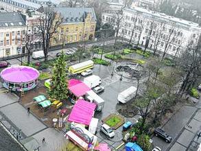Die Bürger werden gefragt: Der Kaiserplatz soll nicht nur für den Weihnachtstreff, sondern auch für andere Veranstaltungen funktionaler und auch durch Gastronomie aufgewertet werden.Foto: J. Lange