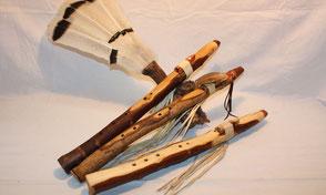 Native American Fluts, pocket flute, Indianische Flöte, Indianer Flöte,