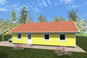 Modell Älmhult 100 von Berg-Schwedenhaus