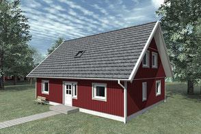 Schwedenhaus von Berg Holzhaus Malmö 145