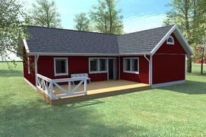 Eckdaten Schwedenhaus von Berg Modell Älmhult 120