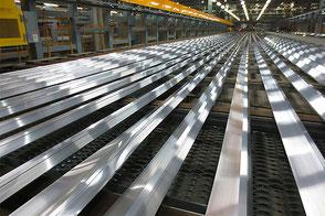 アルミ押出材の製造