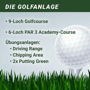 Die Golfanlage am Harrl
