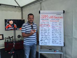 SRM Gewinner- 450Watt fast 10min