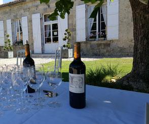 Château La Hitte au coeur de son vignoble AOC Buzet dans le Sud-Ouest de la France