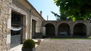 Accès handicapés du Château la Hitte en Lot-et-Garonne