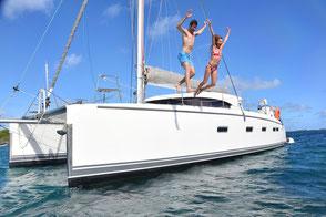 Segeltörn Katamaran Kykladen, Mitsegelreise Peleponnes, Segeln mit Skipper Athen, Katamaranreise Lavrion