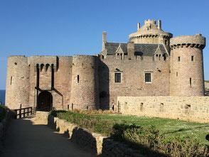 Le chateau fort La Latte