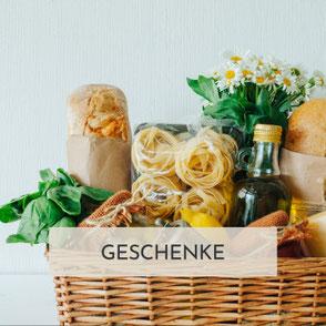 Geschenke, Geschenkskörbe, Geschenksets von Trixis Dorfmarkt