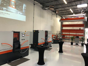 New Showroom and Technology Center Chicago, KASTO Inc.