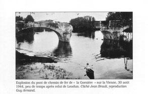 Explosion du pont de la Gornière - 30/08/1944