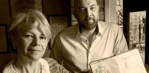 Francesco en zijn moeder Adirana