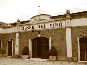 De entree van het Museo del Vino