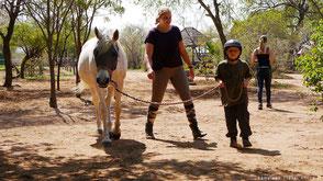 Werken met paarden en kinderen