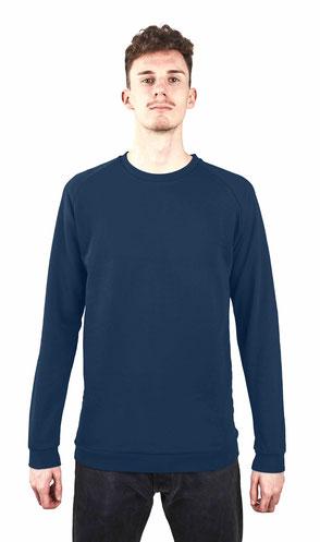 Sweatshirt Überlänge - Sailor Blue