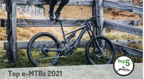 Die besten e-Mountainbikes 2020 in der Übersicht