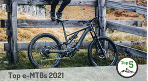 Die besten e-Mountainbikes 2021 in der Übersicht