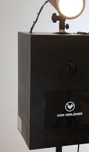 Fotobox mieten - schwarz