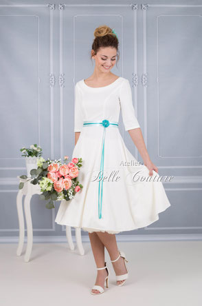 schlichtes Kleid Standesamt
